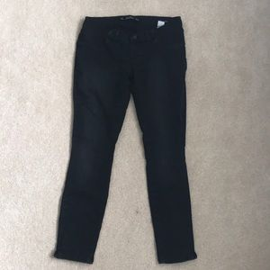 Zara Mum Maternity Jeans Black Size Medium